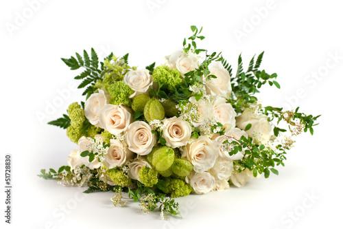 Fotografiet Mazzo di fiori con gonforicarpus