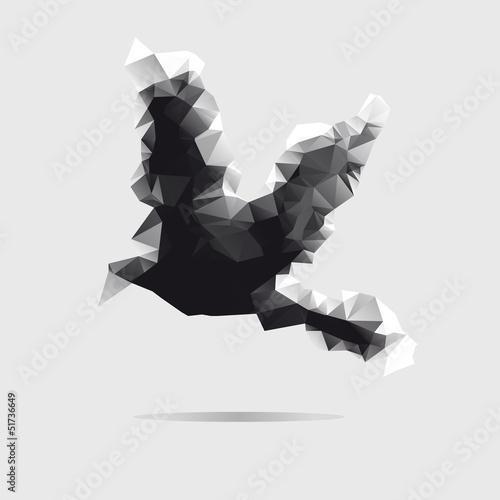 abstrakcjonistyczny-ptak-odizolowywajacy-na-bialym-tle