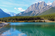 Mount Rundle And Grassi Lakes