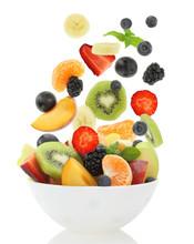 Fresh Mixed Fruit Salad Fallin...