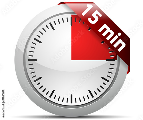 15 minutes timer buy this stock illustration and explore similar
