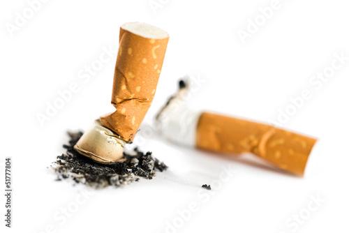 Fotografia, Obraz  Cigarette butt