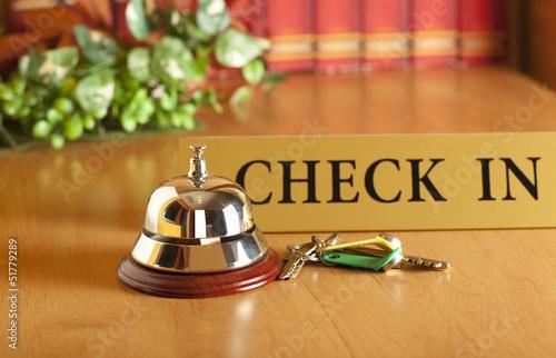 Fotomural  Hotel bell