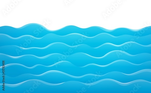 Wall Murals For Kids Waves theme image 8
