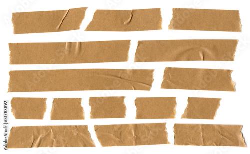 Photo adhesive brown paper tape