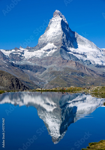 The Matterhorn in Switzerland Canvas Print