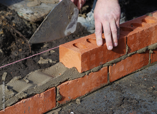 Bricklayer Canvas Print