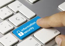 Information Security Keyboard Key