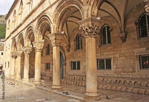 Fotografie, Obraz  Sponza Palace, Dubrovnik, Croatia