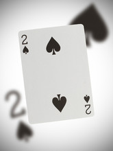Playing Card, Two Of Spades