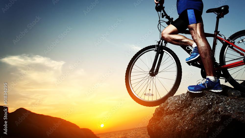 Foto-Vorhang - Rider