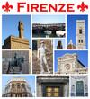 Collage/cartolina Firenze