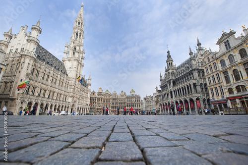 Foto op Canvas Brussel Grand Place - Brussels, Belgium