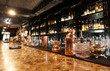 canvas print picture - Classic bar counter