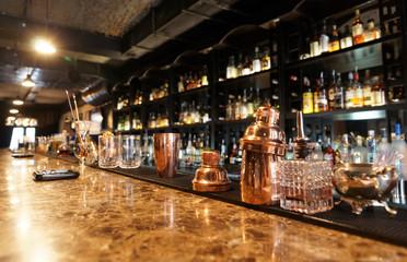 FototapetaClassic bar counter
