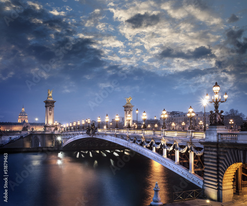 Paris France Pont Aexandre III #51879463