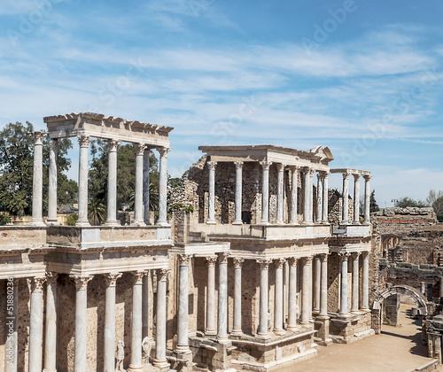 Staande foto Athene Anfiteatro romano