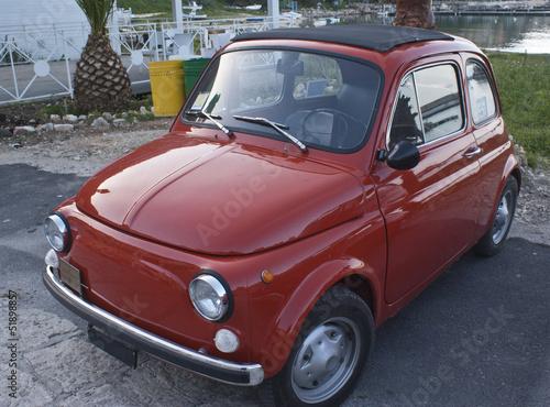 Deurstickers Oude auto s old italian car