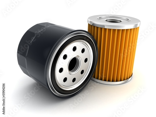 Photo  Car Oil filter