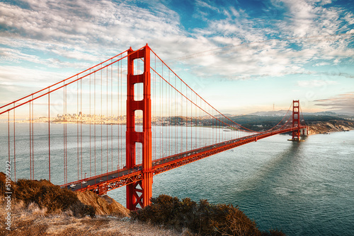 Foto op Canvas San Francisco Golden Gate Bridge, San Francisco