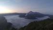 timelapse sunrise volcano