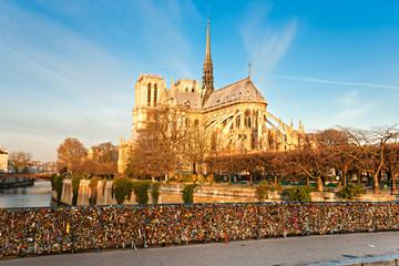 Fototapeta Paryż Notre dame de Paris, France.