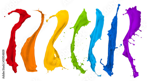 paint splash collection