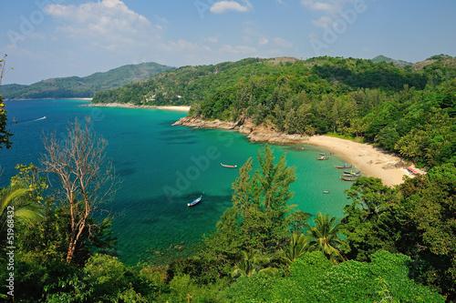 Fotografie, Obraz  Bird eye view of Phuket viewpoint, Thailand