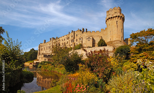 Poster Kasteel Warwick Castle