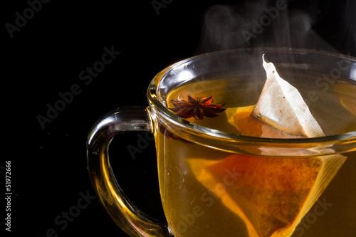 Photo sur Toile The hot tea