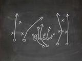 Footbal play strategy