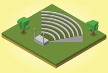 Isometric Amphitheater