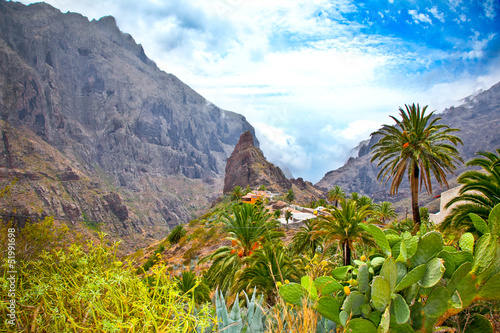 Fotografia  Masca Village in Tenerife, Canary Islands, Spain
