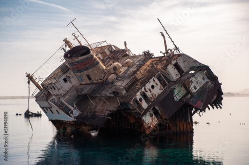 Foto op Canvas Schipbreuk ship wreck