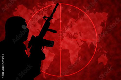 Fotografía  Terrorisme Monde Viseur