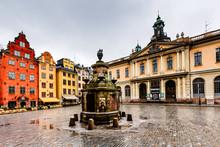 Stortorget In Old City (Gamla ...