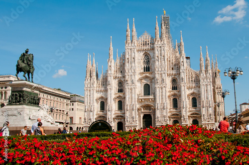 cathedral milan Canvas Print