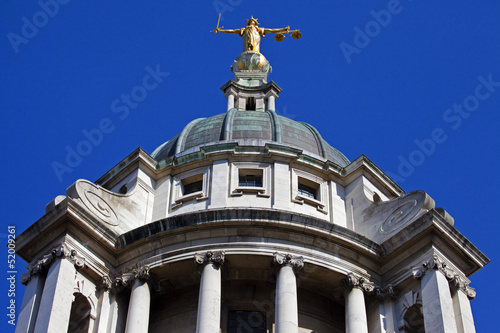 Photo The Old Bailey in London