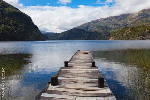 Spoed Foto op Canvas Natuur National park Los Alersis, Patagonia, Argentina