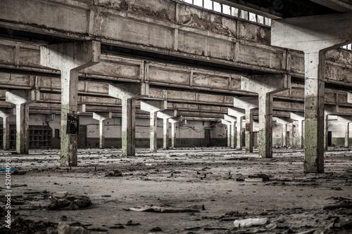 Papiers peints Les vieux bâtiments abandonnés Old factory