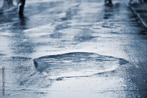Obraz na płótnie Rain