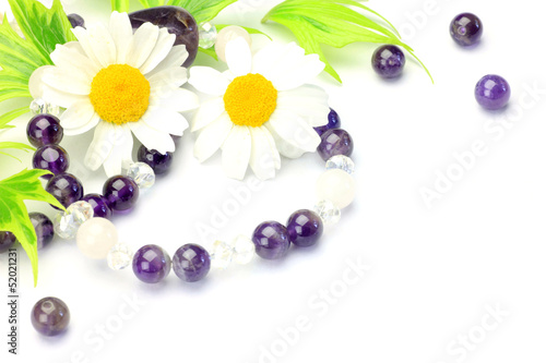 Fotografie, Obraz  accessories and flower