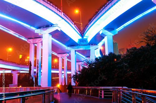 Photo  Shanghai viaduct