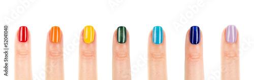 Fotografia rainbow Nails