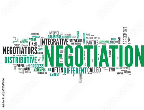Negotiation (tag cloud) #52045864
