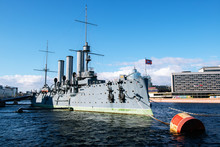 Russian Cruiser Aurora. St.Pet...