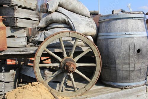 Fotografía  Planwagen (prairie schooner)