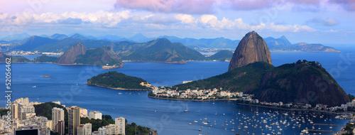 La pose en embrasure Rio de Janeiro Panoramic view of Rio De Janeiro landscape