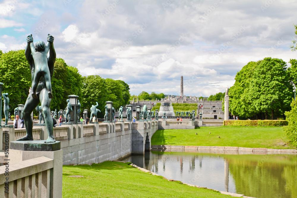 Fotografija  Jardins à Oslo