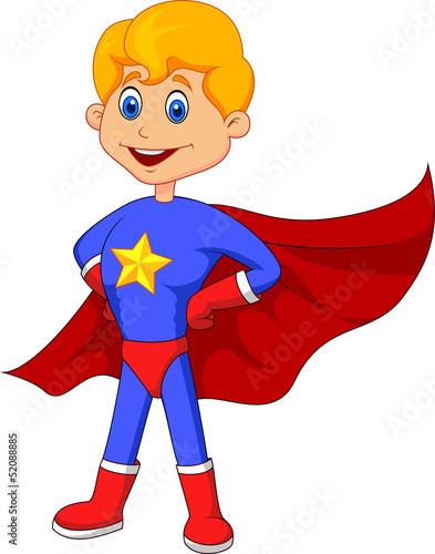 Poster Superheroes Superhero kid